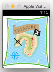 TreasureMap WatchApp