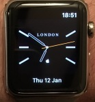 Tissot style watch face
