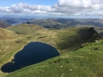 View across Red Tarn to Ullswater